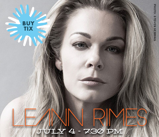 Leann Rimes - click to buy tickets