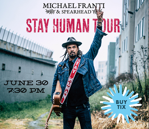 Michael Franti - click to buy tickets