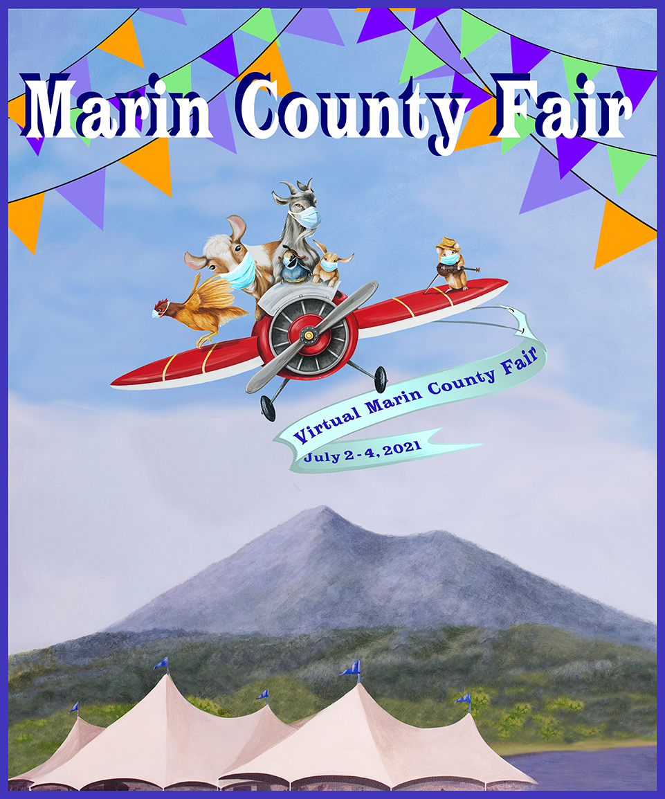 Virtual Marin County Fair - 2021 - The Soaring 2021 - July 2 to 4