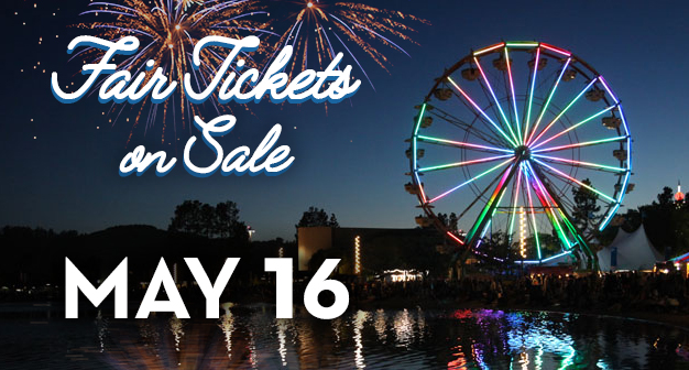 Fair Tickets on Sale May 16th
