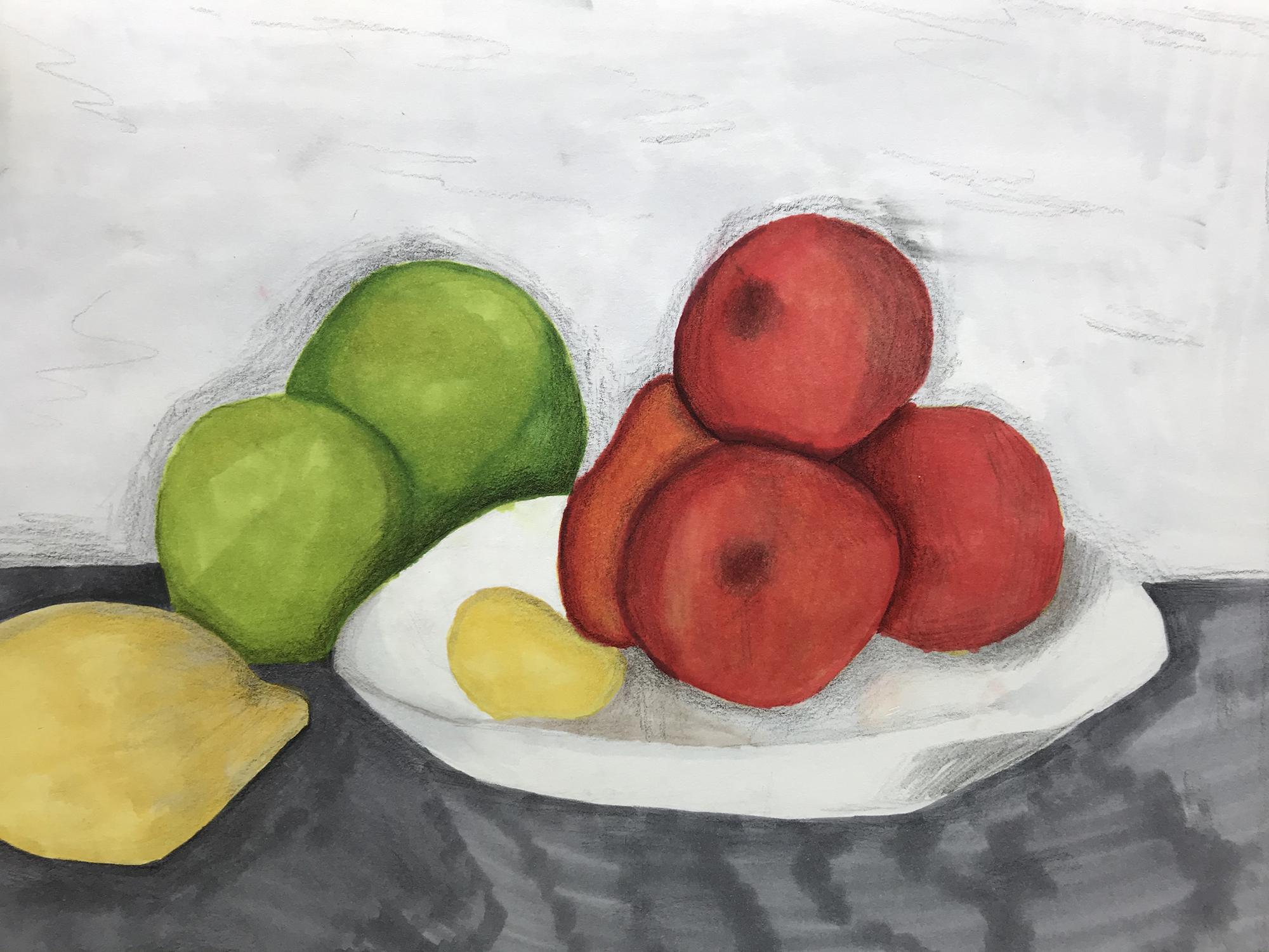 Award of Excellence 1st. Oliver Stadtner, Fruit Still Life