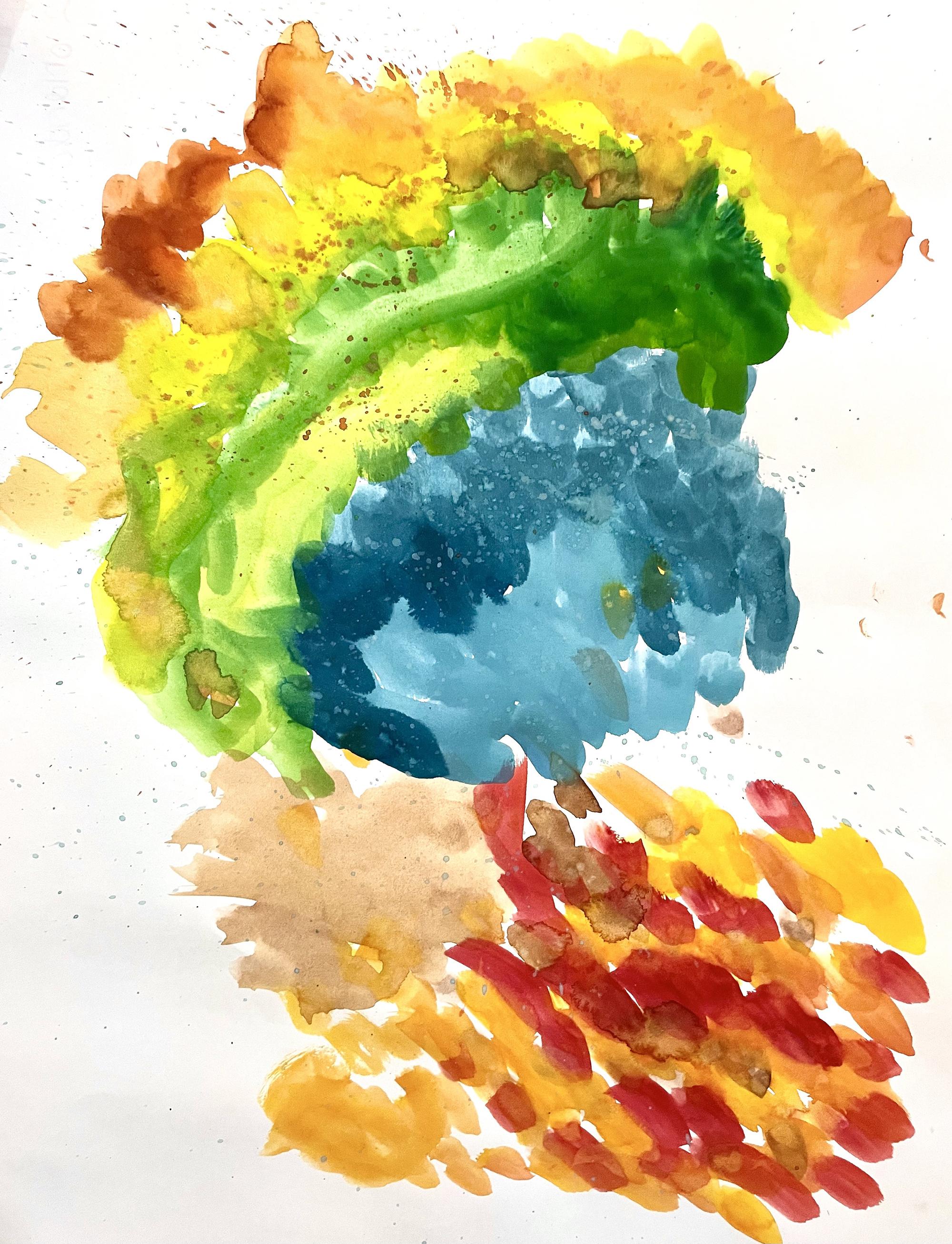 1st. Alyssa Huang, Watercolor sensations 1