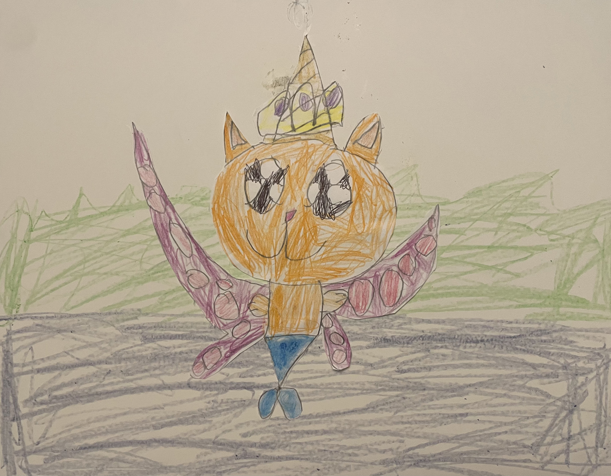 1st. Kaeli Paradise, Princess Maya, the flying Mermi-cat-icorn