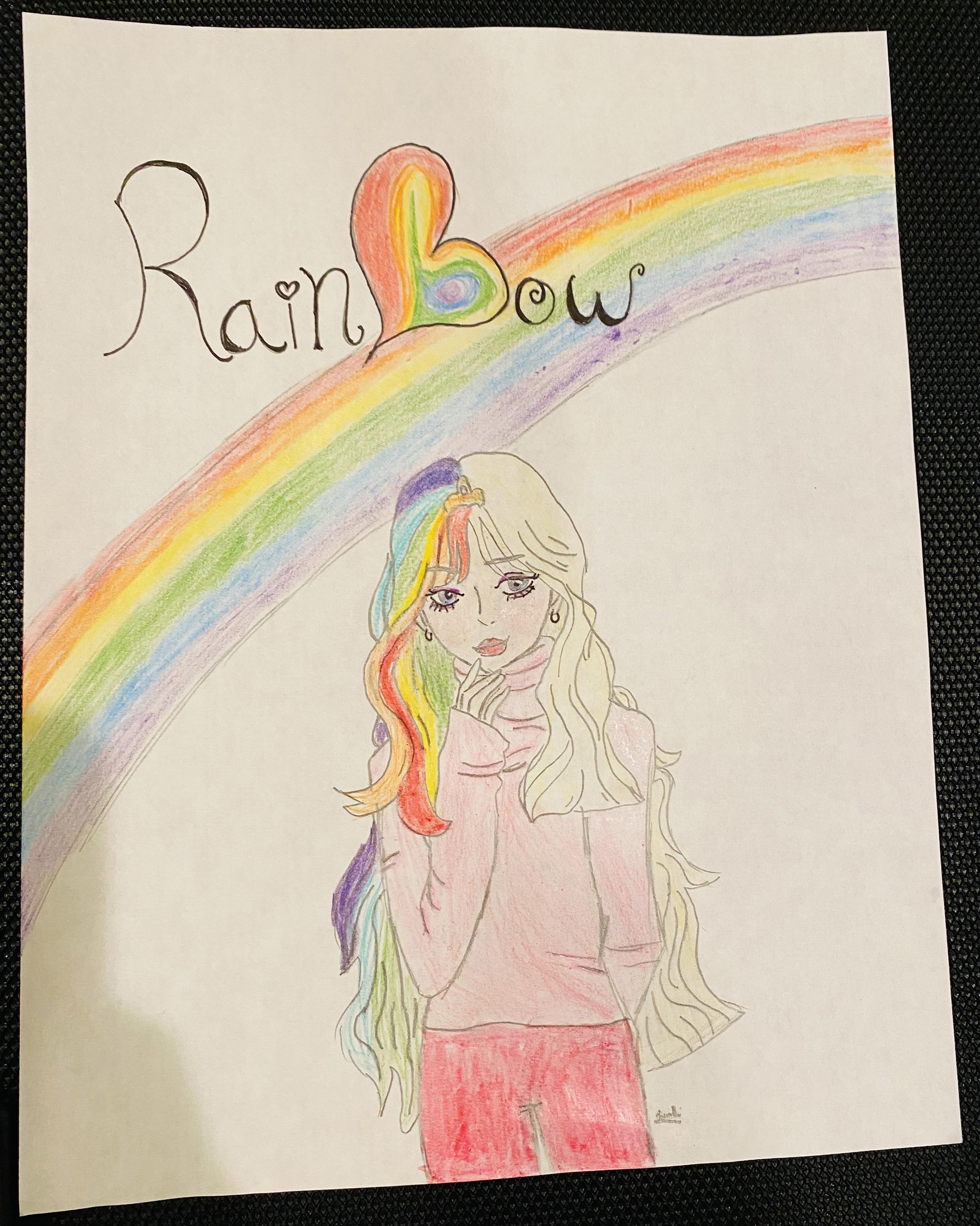 2nd. Lily Borri, Rainbow