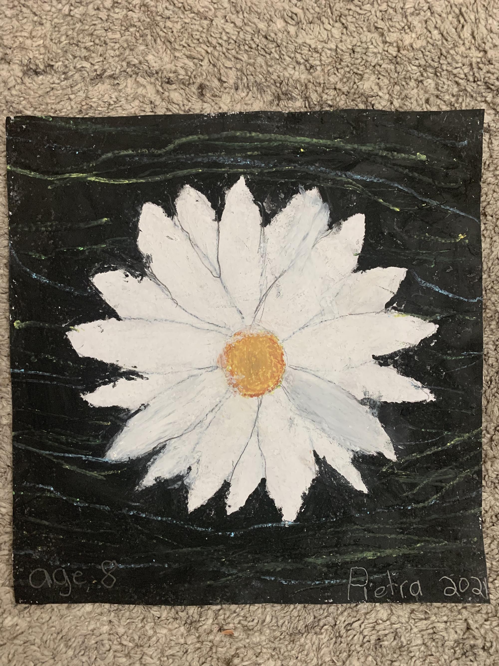 2nd. Pietra Boralli, White Flower