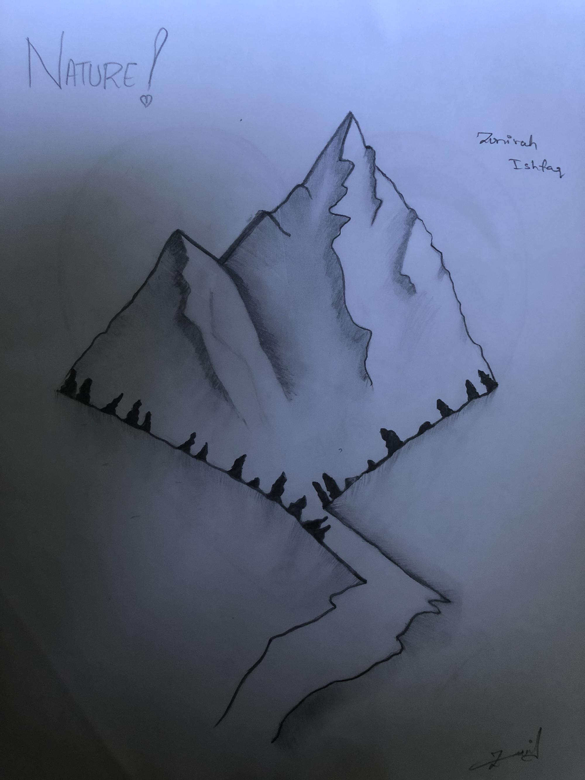 2nd. Zunirah Ishfaq, Drawing #11