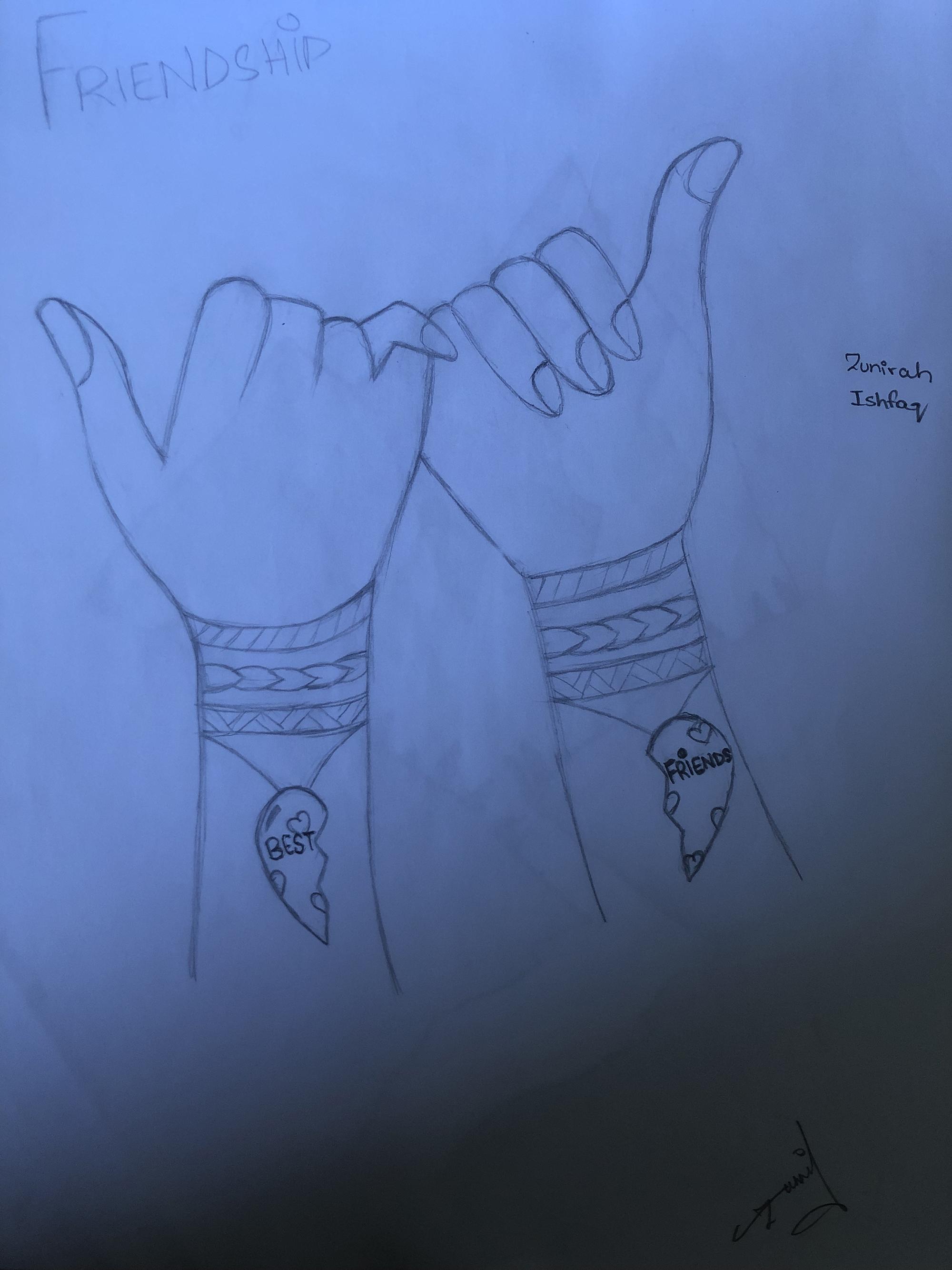 2nd. Zunirah Ishfaq, Drawing #5