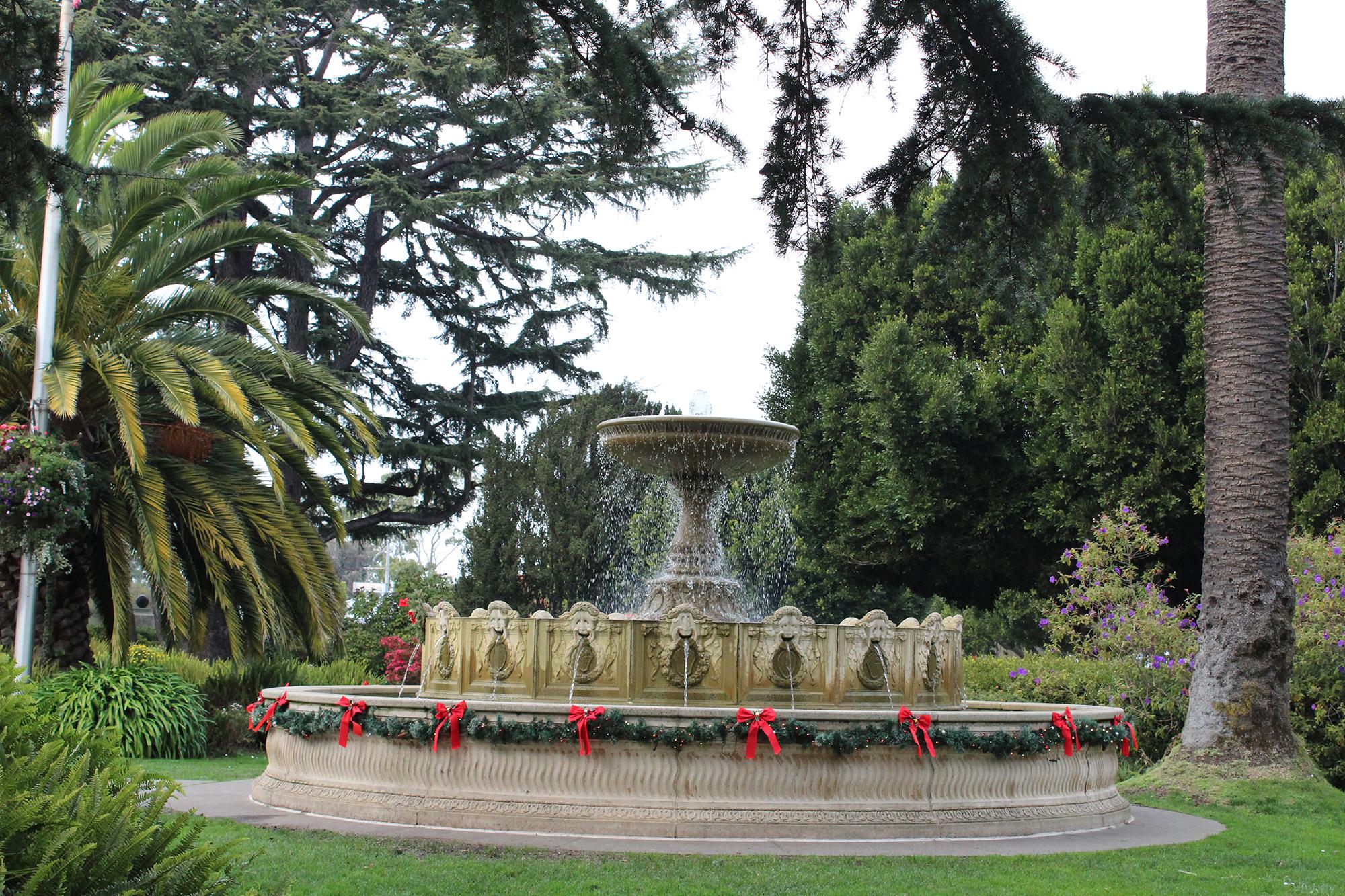 2nd. Callie June, Festive Fountain