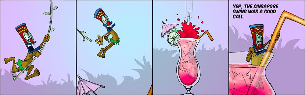1st. Shawn Nelson, Tiki Island Princess Cartoon