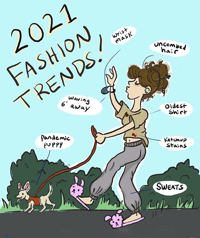 2nd. Sarah Frank, 2021 Fashion Trends