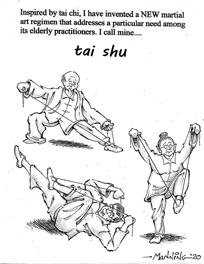 BOS 1st. Richard Manning, Tai Shu