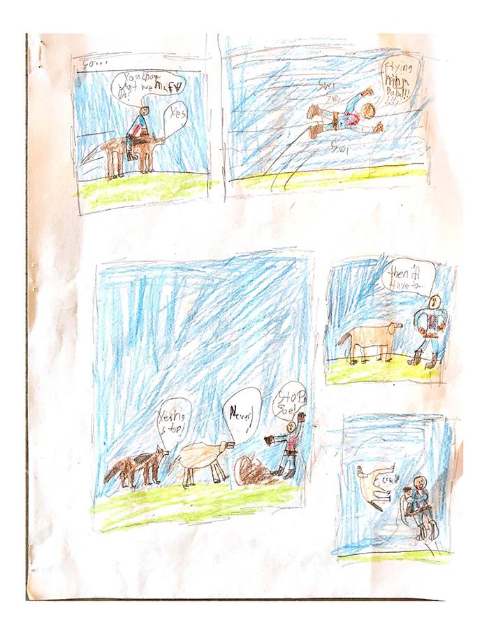 1st. Atticus LaFemina, Ninja Baba  (Page 3)