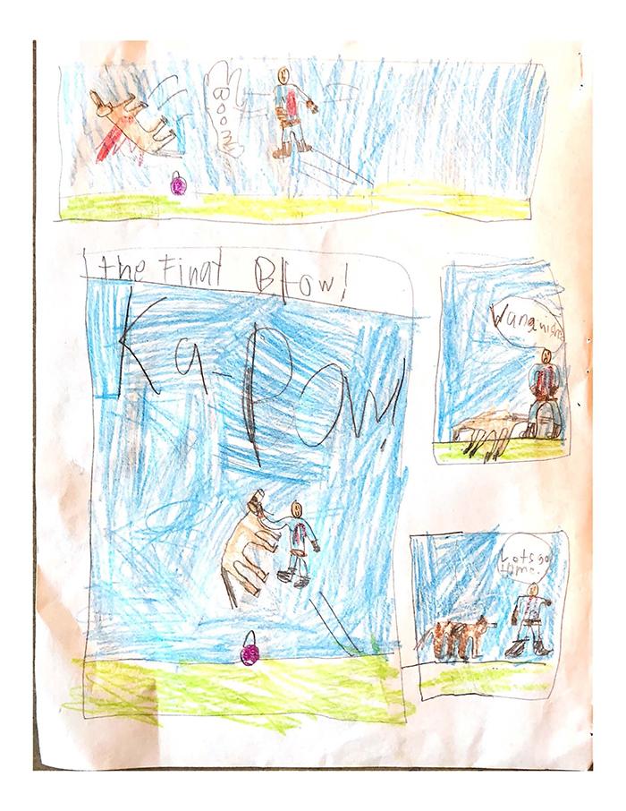 1st. Atticus LaFemina, Ninja Baba (Page 4)