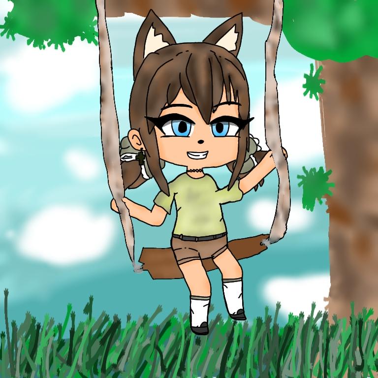 1st. Elizabeth Martinez, Girl on swing