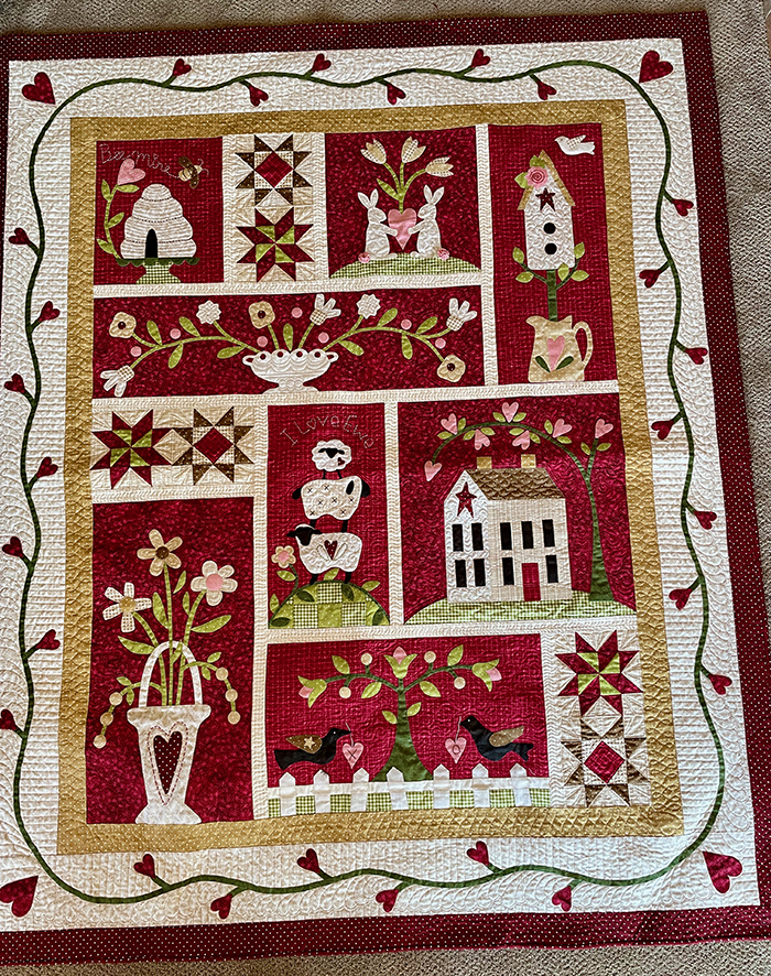 BOS Quilting 1st. Nancy Sumner, From the Heart
