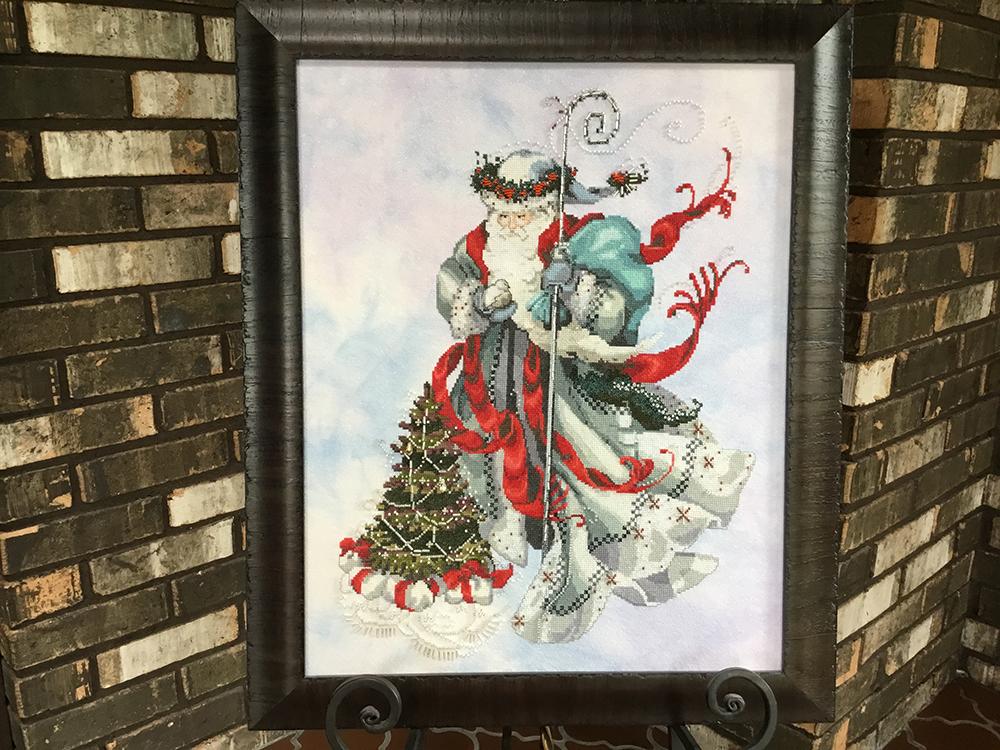 1st. Chris Sikorski, Winter White Santa