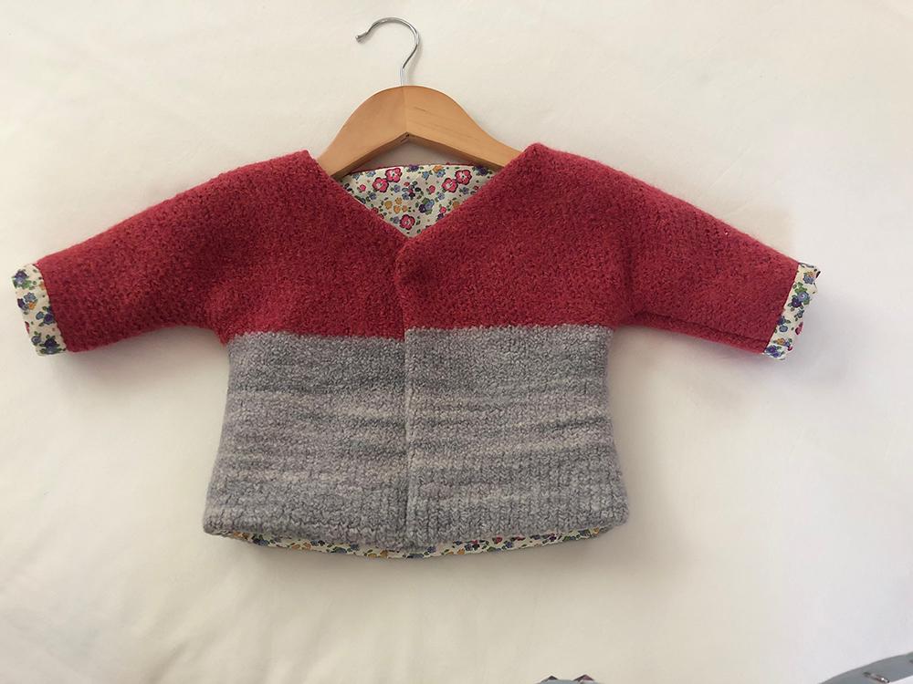 1st. DanaThelen, Felted Wool Jacket 1