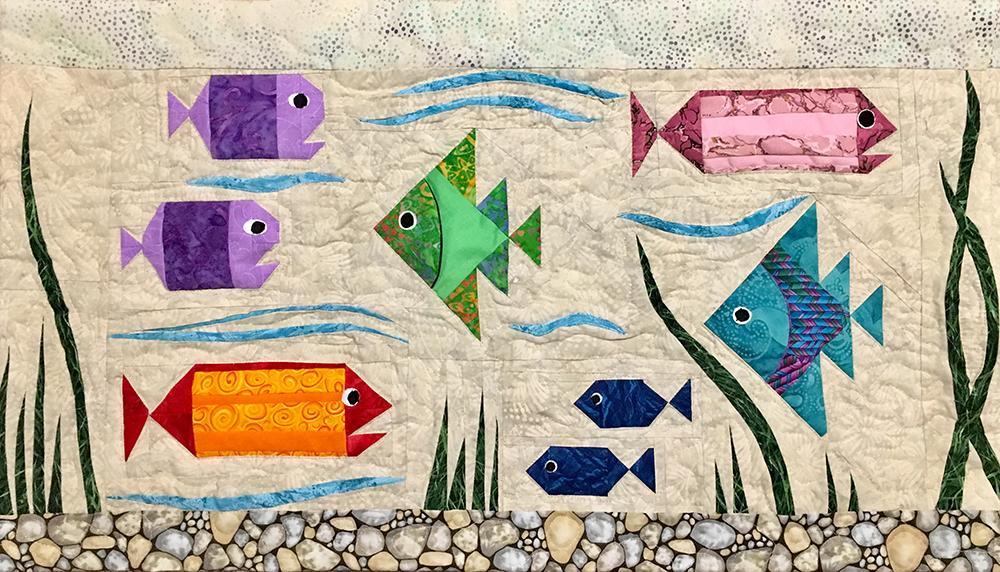 1st. Joy Troyer, Fun Fish