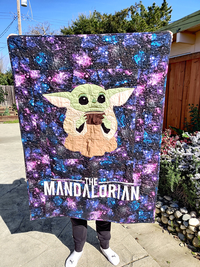 1st. Kimi Anderson, The Mandalorian Quilt 1