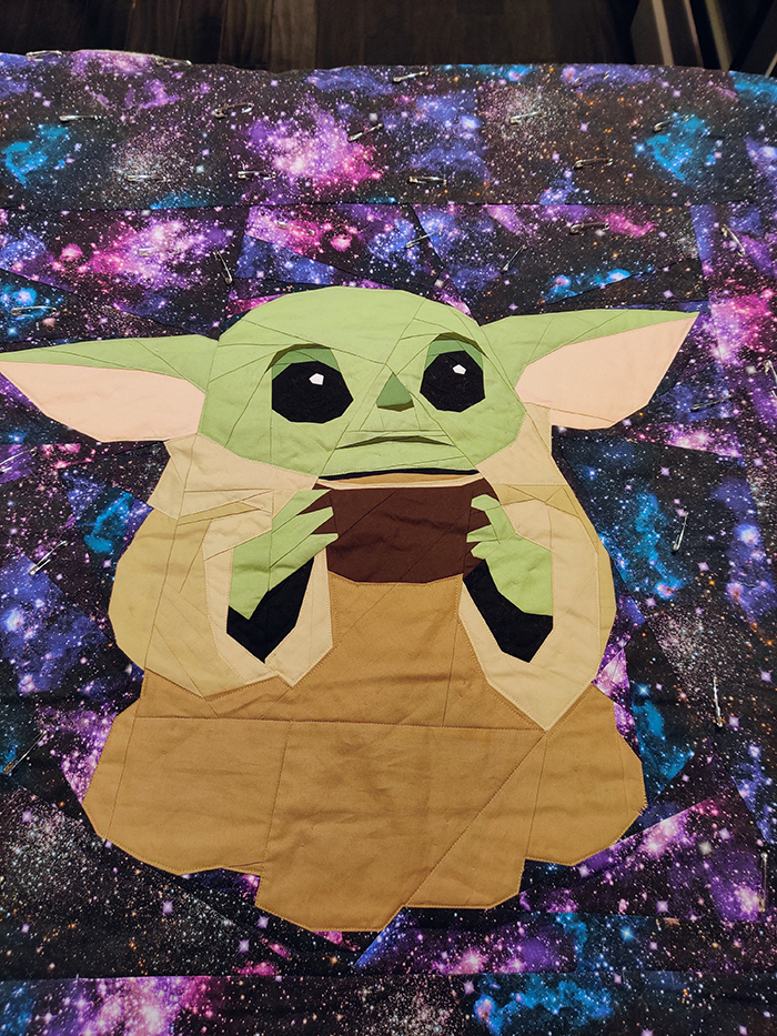 1st. Kimi Anderson, The Mandalorian Quilt 2