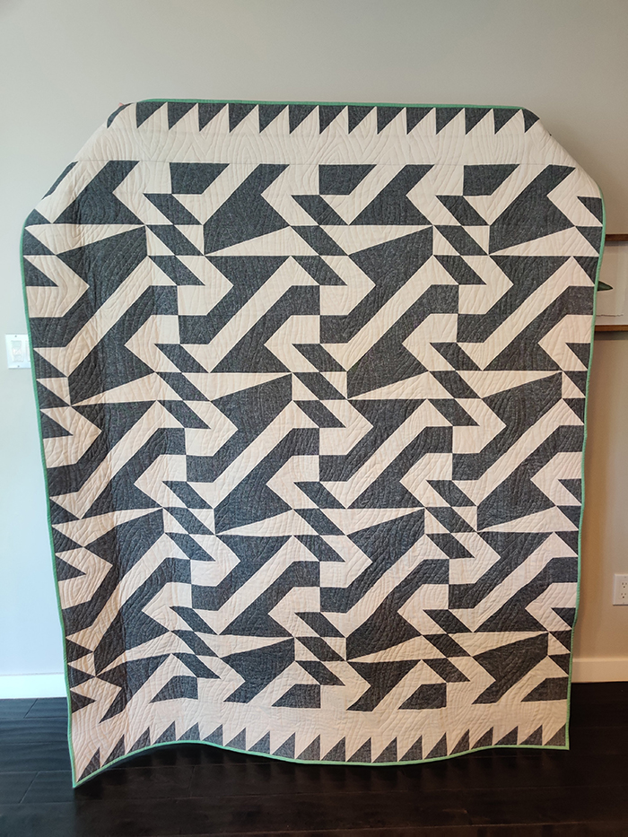 1st. Kimi Anderson, Voyage Quilt 1