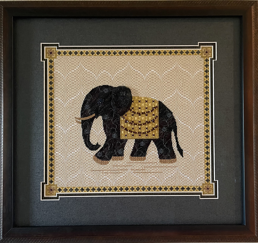 1st. Marianne Vollenweider, Maharajas Elephant