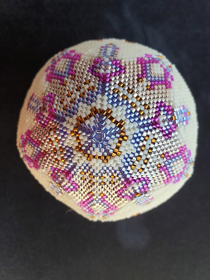 1st. Mary Hoell, Beade Petra Ball