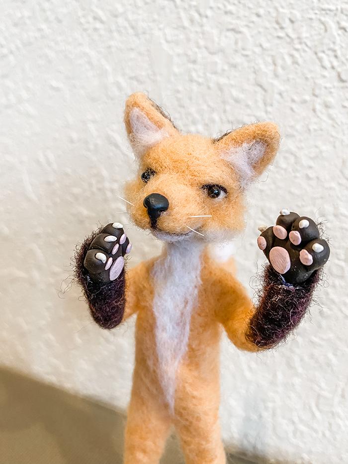 1st. Sarah Frank, Mr Fox 1