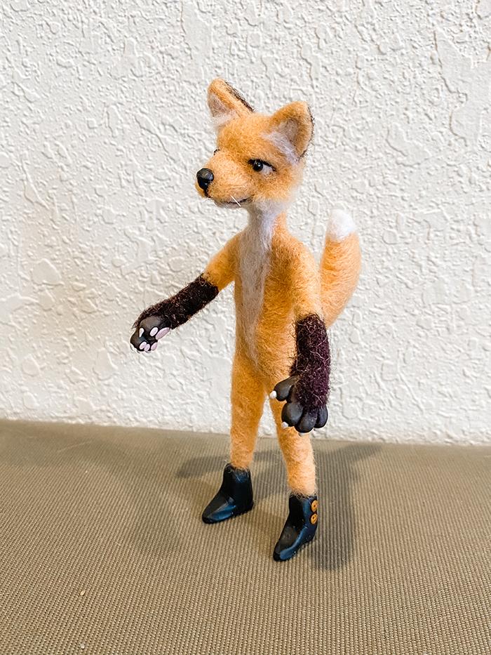 1st. Sarah Frank, Mr Fox 2