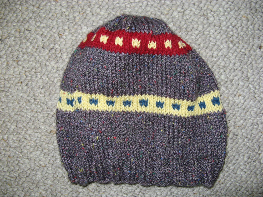 2nd. Elaine C Johnson, Colorful Hat