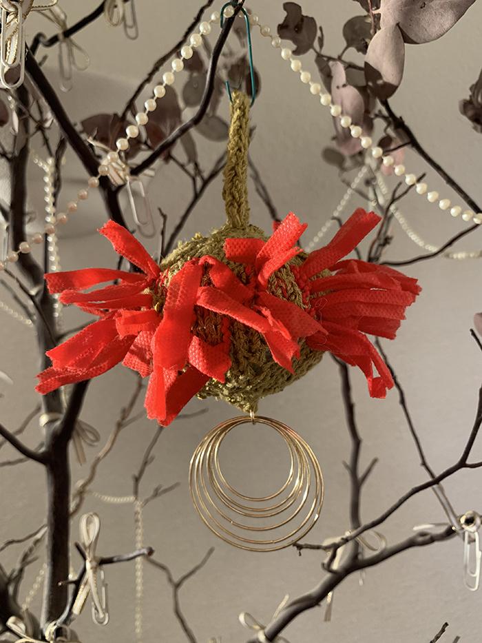 3rd. Ruth Suzuki, COVID Xmas ornament