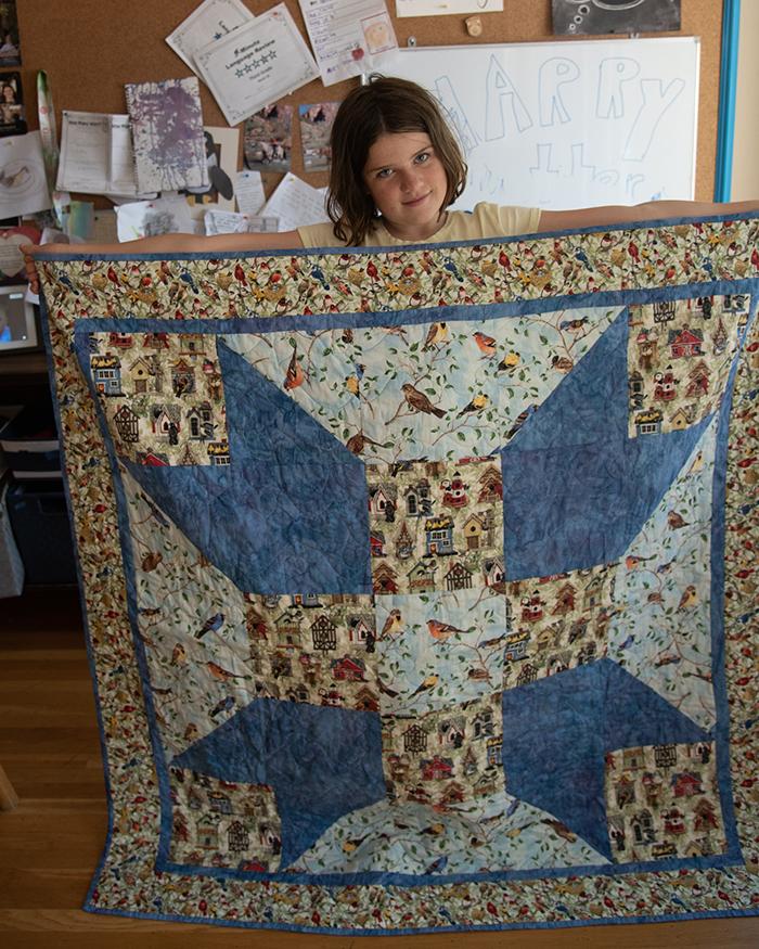 1st. Sophia Osterman, bird quilt 2