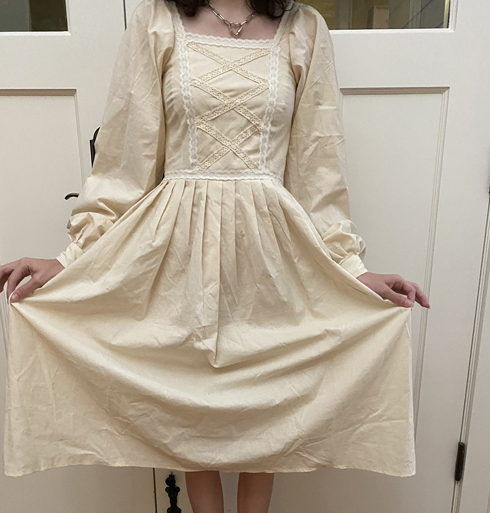 1st. Sydney Lotter, Vintage Dress