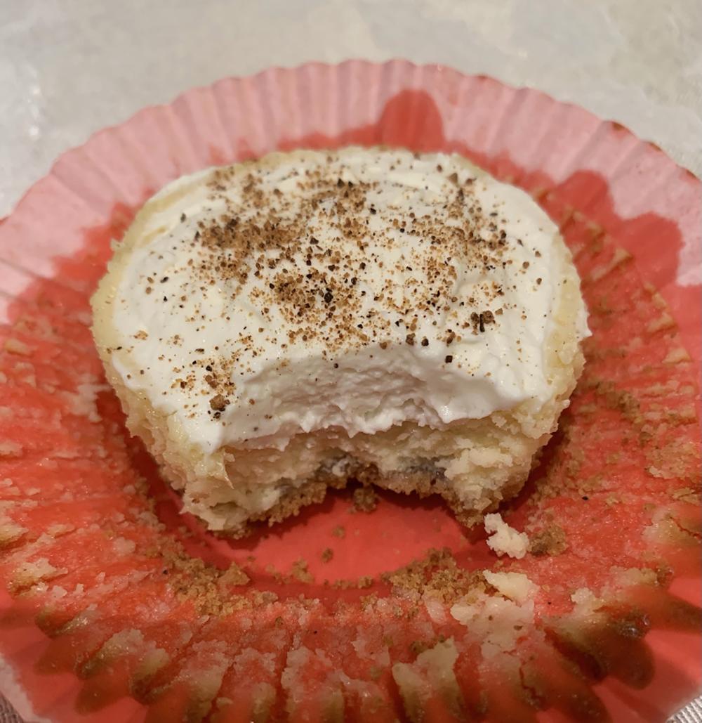 1st. Caitlin Bain, Cinnamon Cheesecakes 2