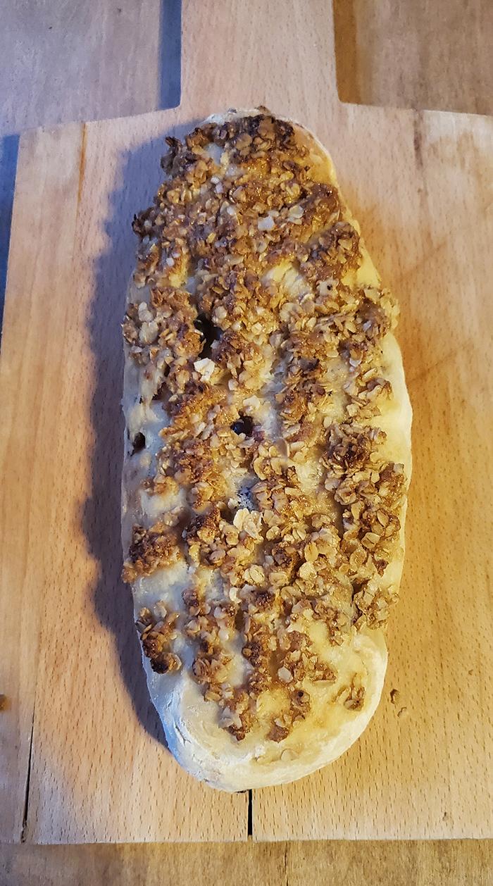 2nd. Ava Romero, Cranberry Oatmeal baguette