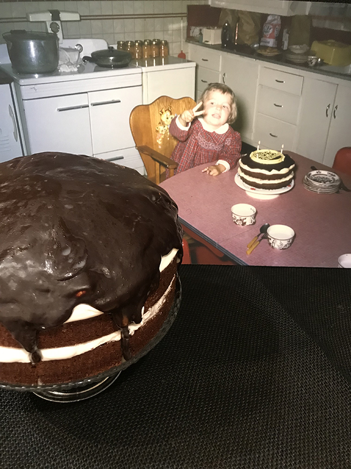 2nd. Tianne Cook, Mother Frenchs Devils Food Cake
