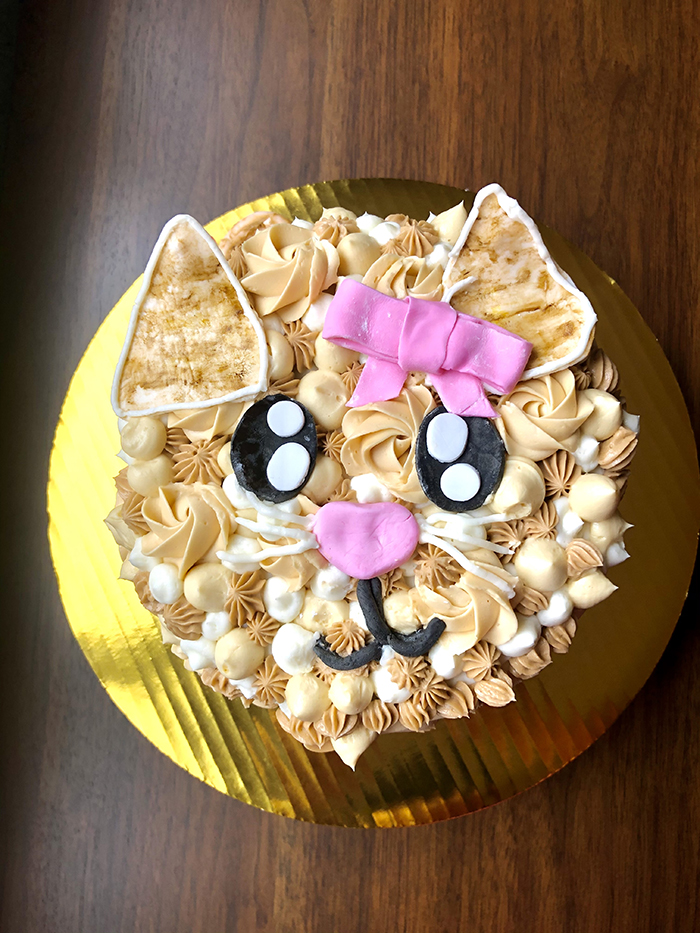 Best of Show, Cakes. Huang Alyssa, Kitty Cat Cake