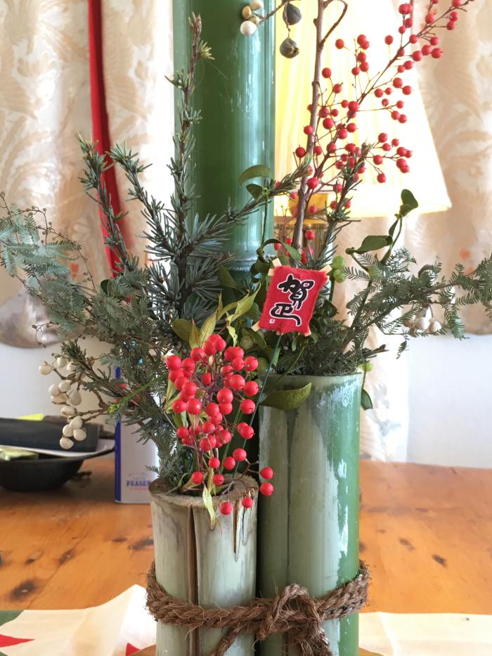 3rd. Sharon Suzuki, Bamboo Ikebana - Ikenobo Style