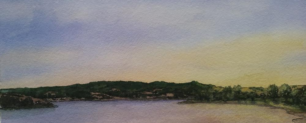 Stafford Lake Sunset