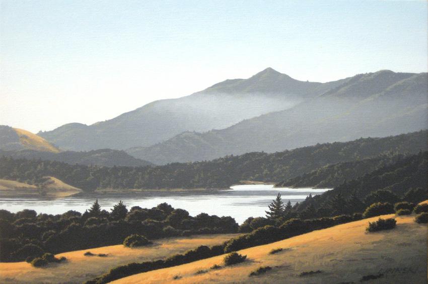 Mt. Tam from Azalea Hill