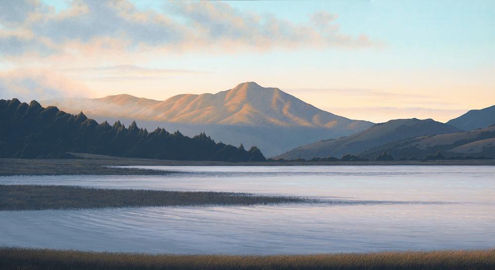 Mt. Tam from Richardson Bay