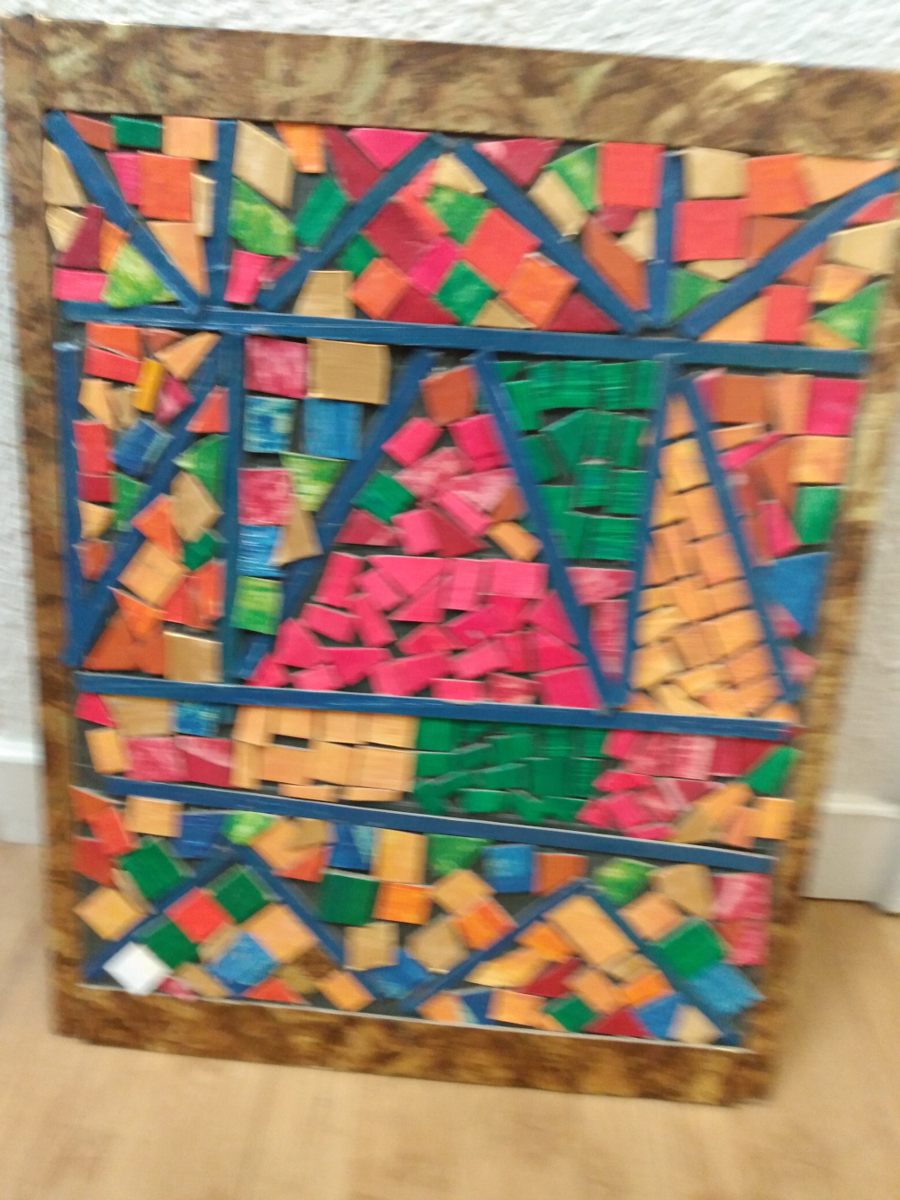 3rd. Zerene Soans, Trash to treasure. Mosaic